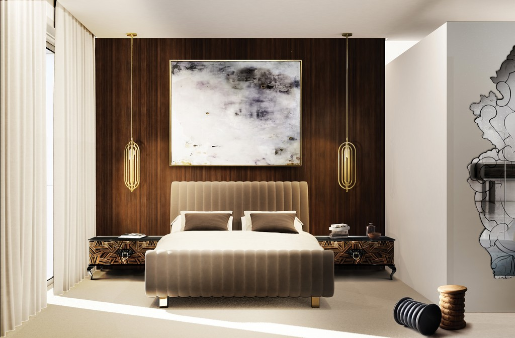 Die Neue Luxus Schlafzimmer Deko Tendenzen 2017 Wohn Designtrend with proportions 3779 X 2480