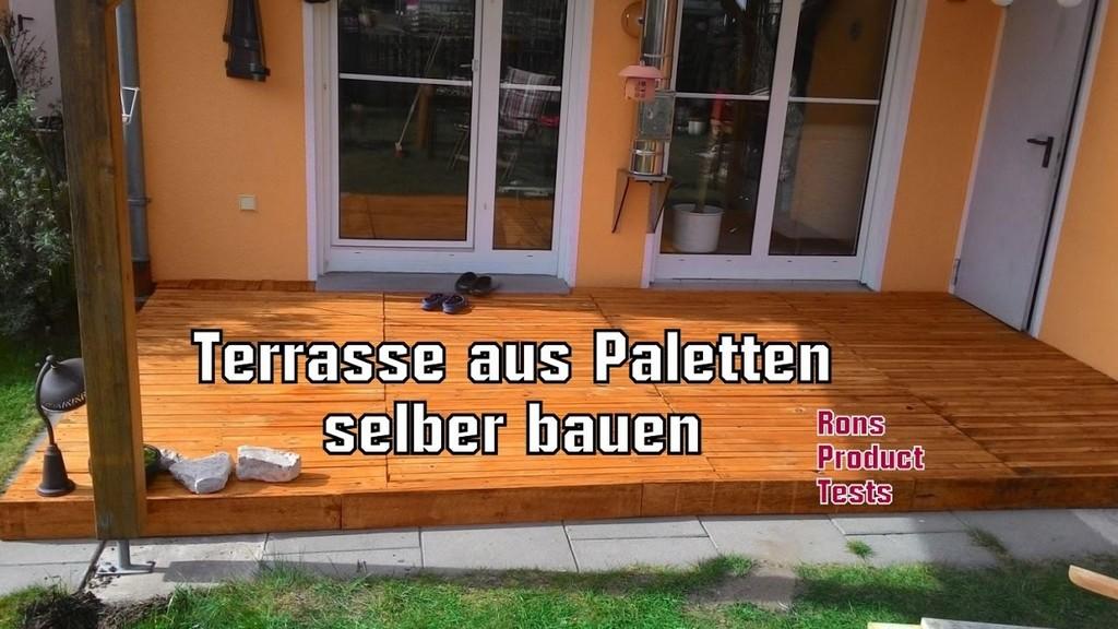 Diy Holz Terrasse Aus Paletten Selber Bauen Schritt Fr Schritt throughout dimensions 1280 X 720