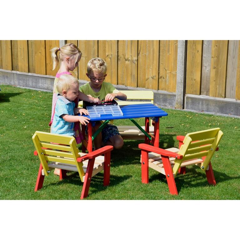 Dobar Kindersitzgarnitur 4 Teilig Mit Kindertisch Mehrfarbig Kaufen inside proportions 1500 X 1500