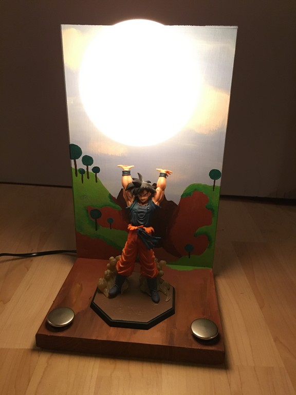 Dragon Ball Z Genkidama Lampe De Fra Projects with measurements 3024 X 4032