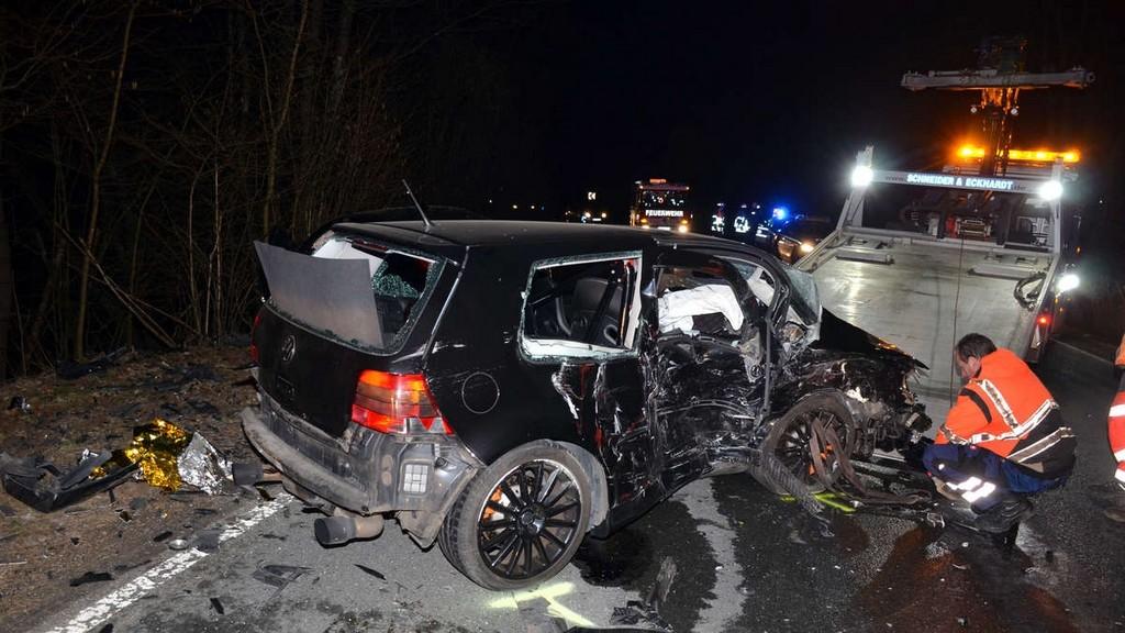 Drei Verletzte 24 Jhriger Raser Verursachte Schweren Unfall Auf in dimensions 1200 X 675