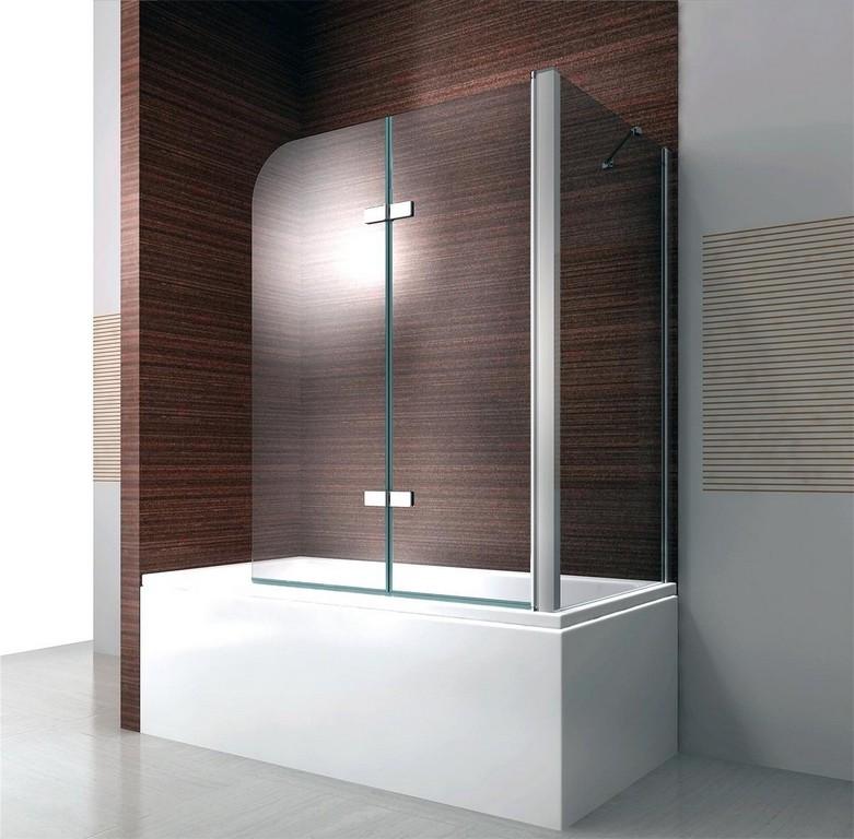 Duschwand Faltbar Duschabtrennung Badewanne Eck Nano Faltwand 700 in size 1200 X 1180