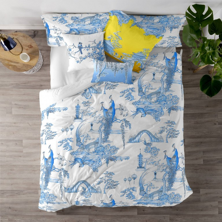 Duvet Cover Zen Garden Happy Friday inside sizing 1450 X 1450