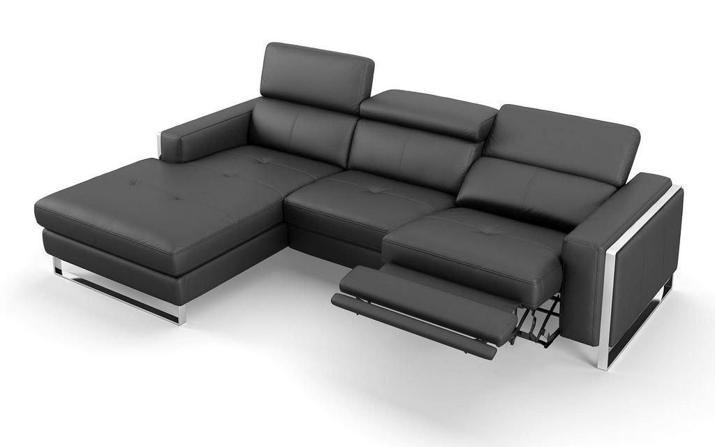 Eckgarnitur Sofa Mit Relaxfunktion In Leder Sofanella in size 1920 X 1200