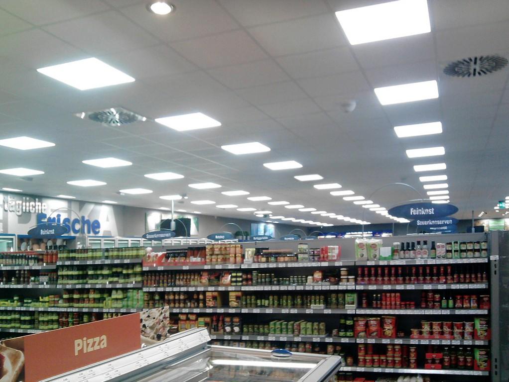Edeka Aktiv Markt Wechselt Auf Led Beleuchtung pertaining to proportions 1200 X 902