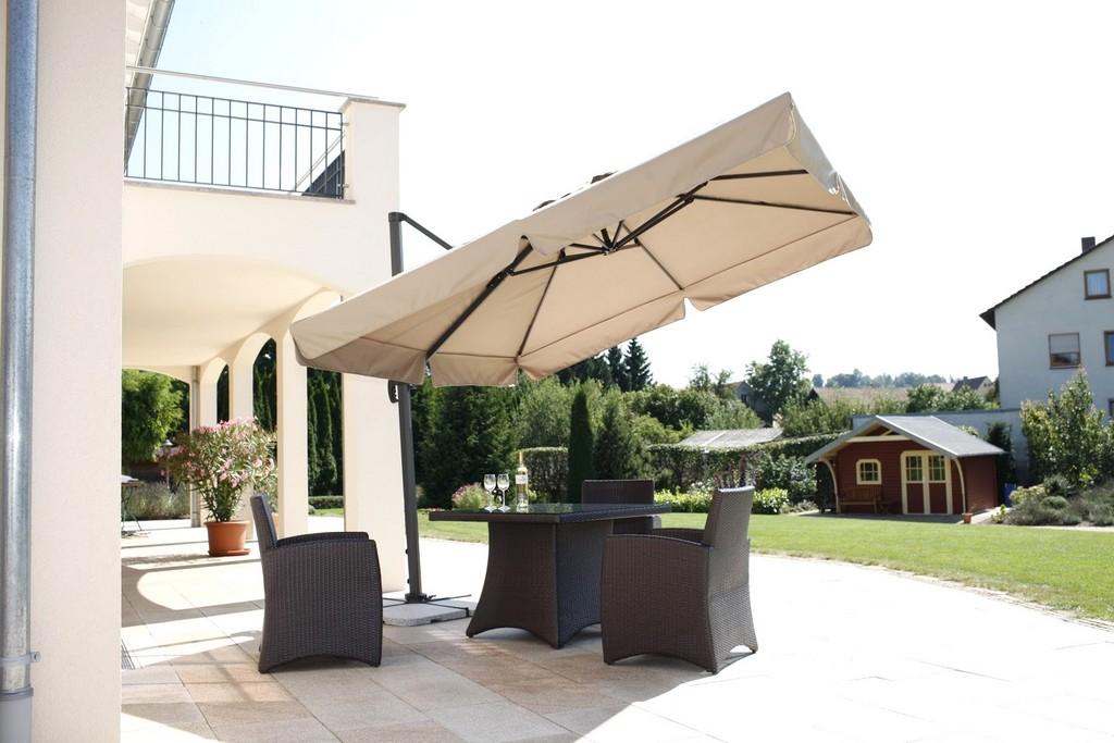 Ehrfrchtige Inspiration Sonnenschirm Fr Dachterrasse Und Brillant for proportions 1600 X 1067