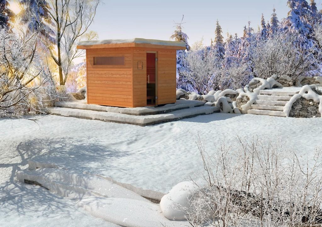 Eigene Sauna Im Garten Bauen Auf Bauvorschrift Achten within measurements 1920 X 1357