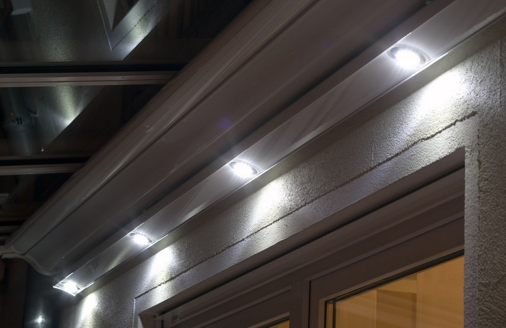 Einfach Terrassendach Beleuchtung Licht Wolf Markisen 1 Led regarding proportions 1919 X 1247