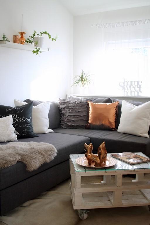 Einrichtungsideen Wohnzimmer Grau Wunderbare Modern Wohnen Fr Ihr in proportions 1000 X 1500