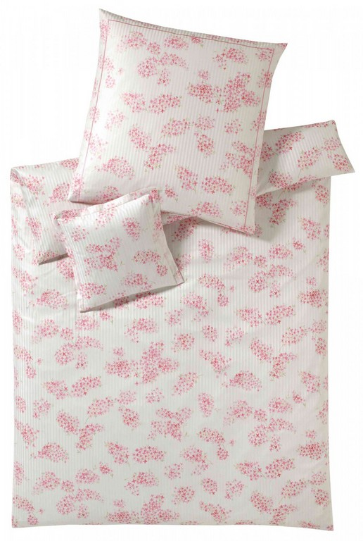 Elegante Mako Satin Bettwsche Etienne 2121 1 Rosa with regard to sizing 1007 X 1500