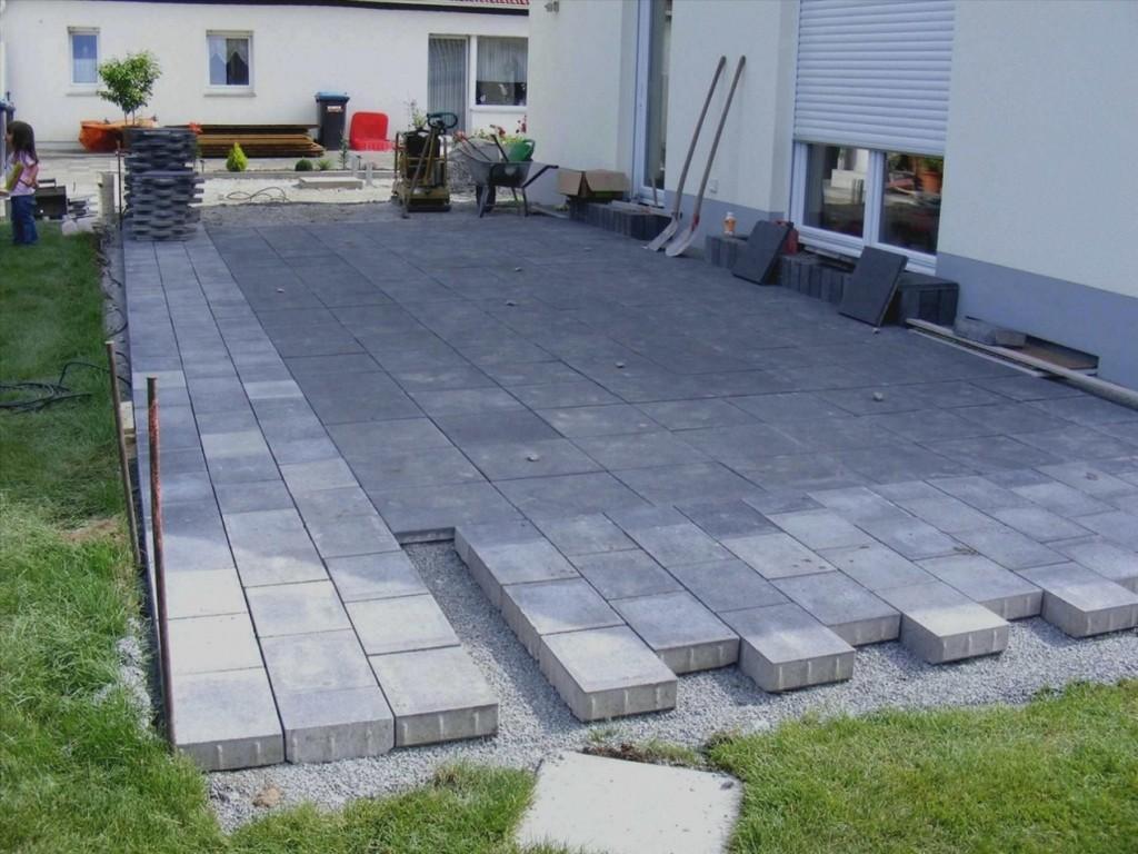 Elegantes Terrasse Bauen Stein Trend Terrasse Bauen Stein with measurements 1034 X 775