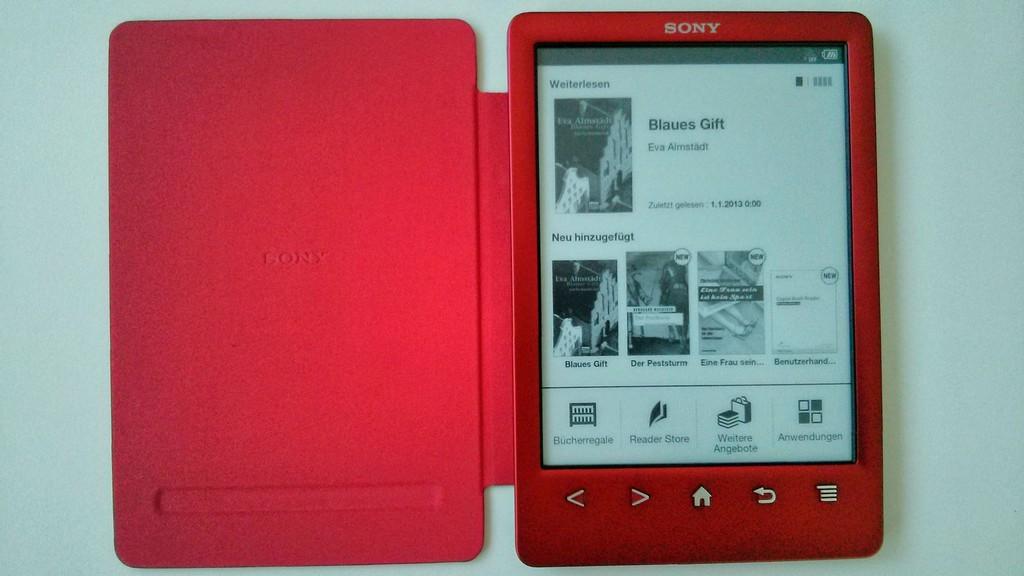 Ereader Test Kein Licht Wie Der Sony Reader Prs T3 Sich Dem Trend inside proportions 1600 X 900