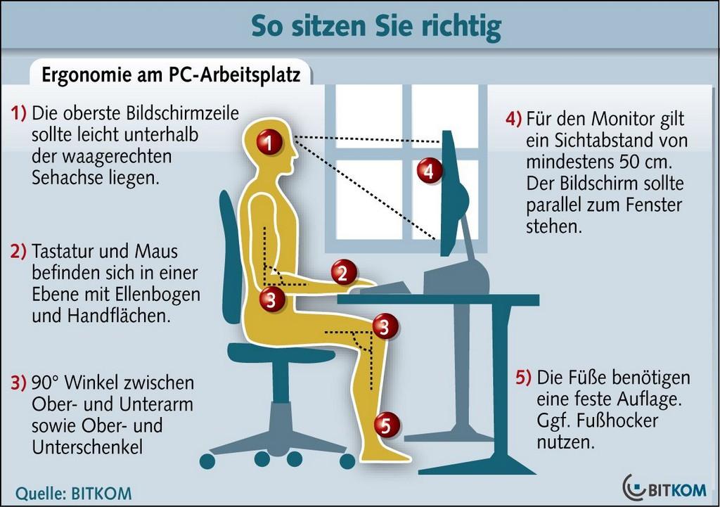 Ergonomie Am Arbeitsplatz throughout dimensions 1184 X 834