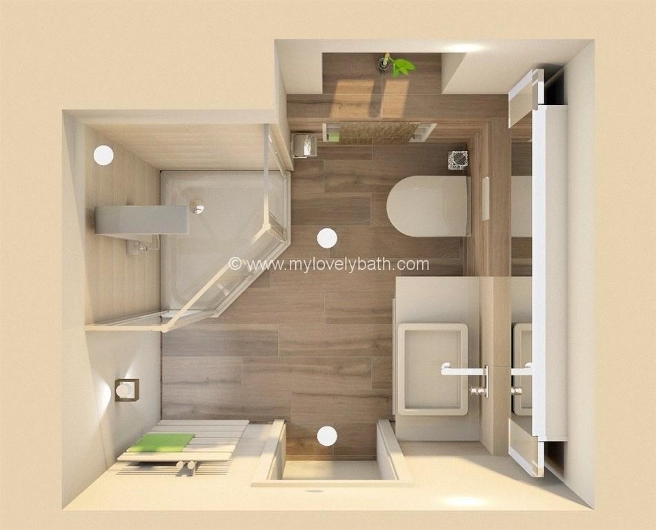 Exceptional Badezimmer 5 Quadratmeter 1 Badezimmer 5 Qm Einrichten intended for proportions 1007 X 813