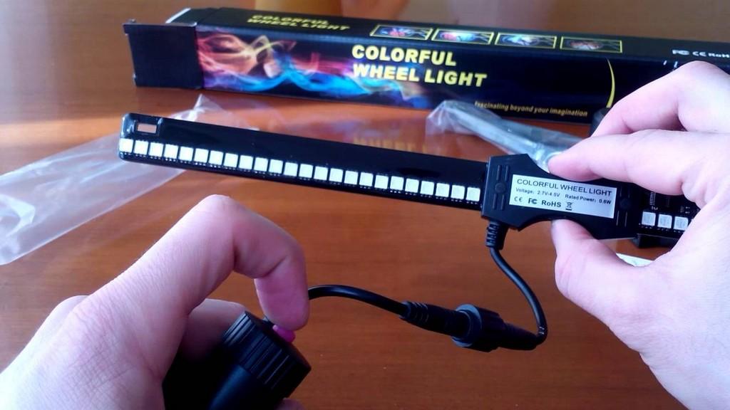 Fahrrad Motorrad Speichen Felgen Licht Colorful Wheelight Bilder In pertaining to measurements 1280 X 720