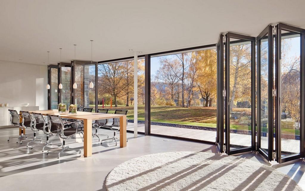 Faltwand Und Falttren Aus Glas Aluminium Und Holz with size 1280 X 800