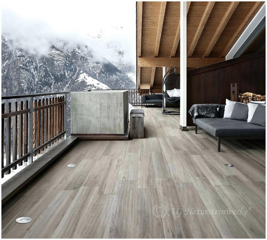 Feinsteinzeug Fliesen Holzoptik Aussenbereich Wohn Design in size 1800 X 1623