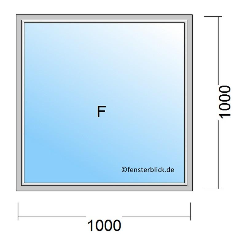 Fenster 100x100 Cm Zu Gnstigen Preisen Fensterblickde for measurements 960 X 960