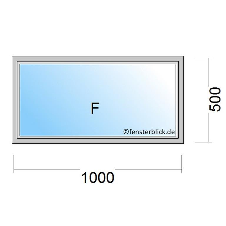 Fenster 100x50 Cm Zu Gnstigen Preisen Fensterblickde regarding sizing 960 X 960