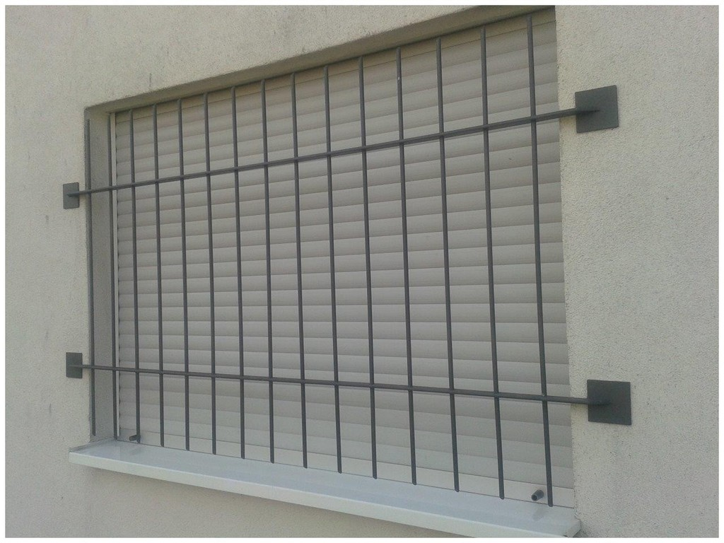 Fenster Mit Gitter 593333 Gitter Metallbau Metzler inside proportions 1280 X 960