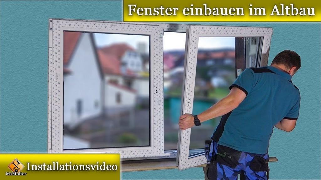 Fenster Montage Fenster Einbauen Im Altbau Doppelfenstermontagen for measurements 1280 X 720