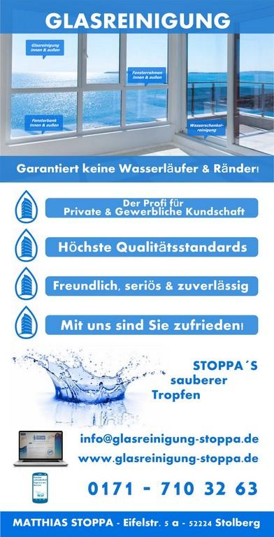 Fensterreinigung Roetgen Glasreinigung Aachen Glasreinigung Stoppa with regard to size 666 X 1306