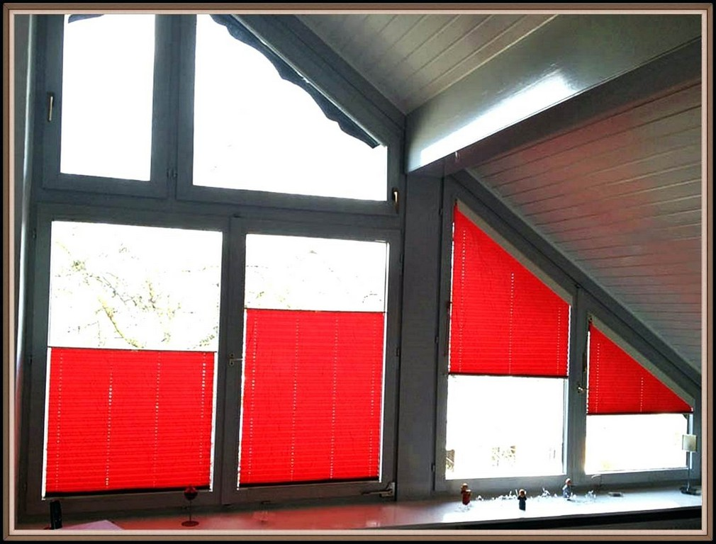 Feststehende Fenster Rollos Fa 1 4 R Innen Plissee Selbst Bauen Wie with sizing 1260 X 958