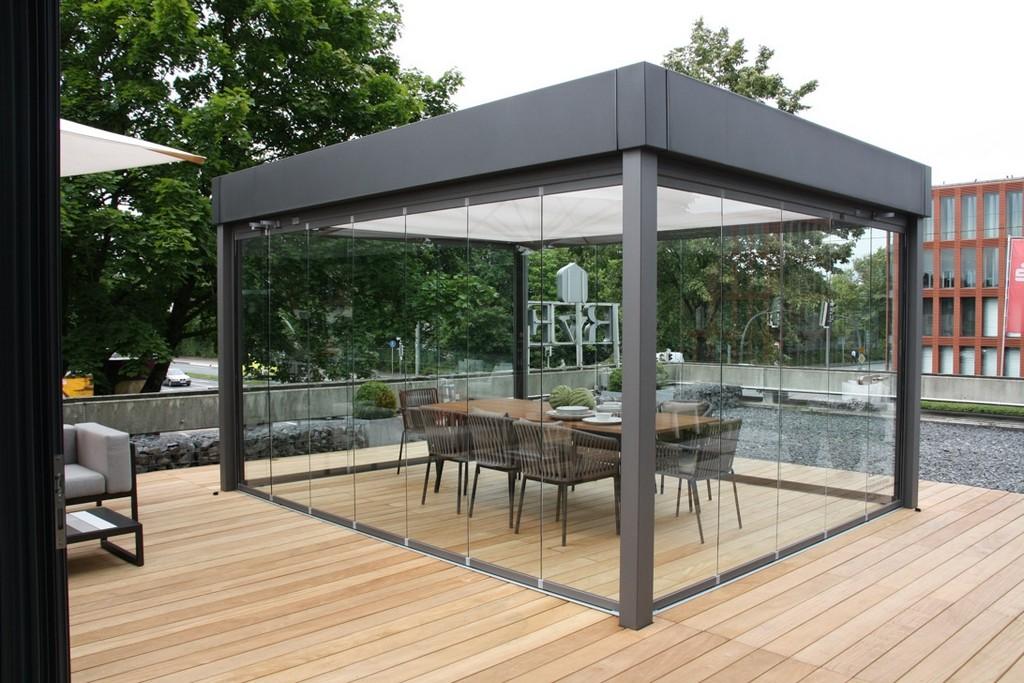 Flexible Terrassenberdachung Einfach Greyinkstudios within size 1092 X 728