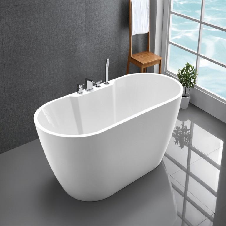 Optiline Acryl Oval Badewanne Freistehend Haus Ideen