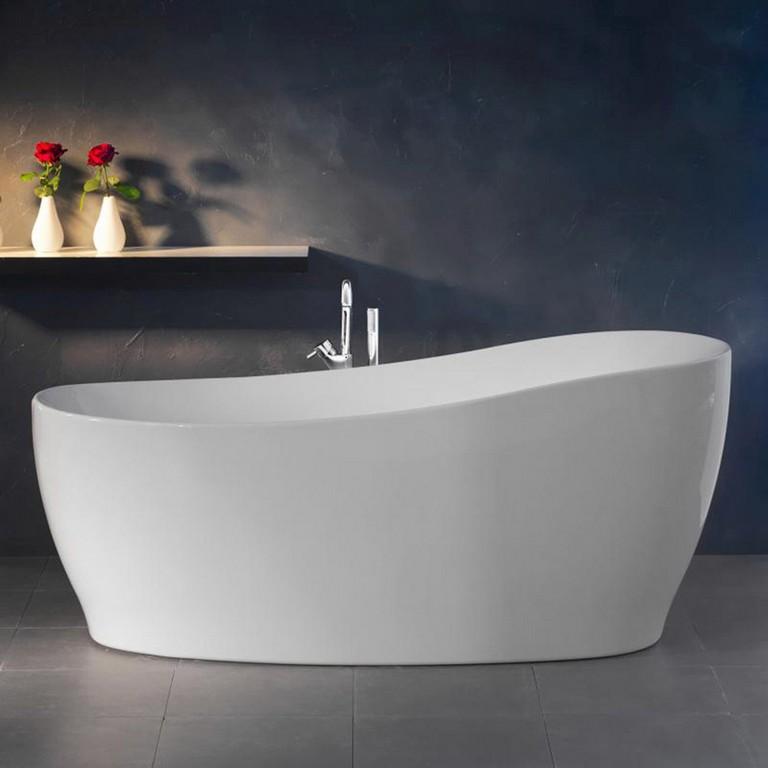 Freistehende Badewanne Aviva 180 Cm X 85 Cm Wei Kaufen Bei Obi inside size 1500 X 1500