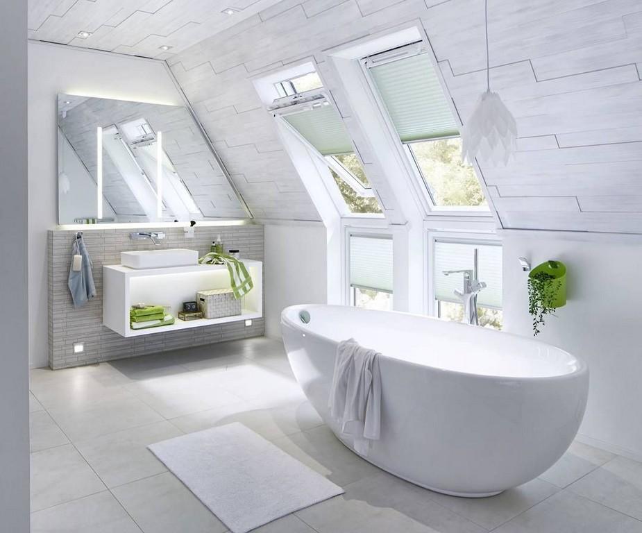 Freistehende Badewanne Unter Der Dachschrge Von Repabad Bad with regard to size 1080 X 897