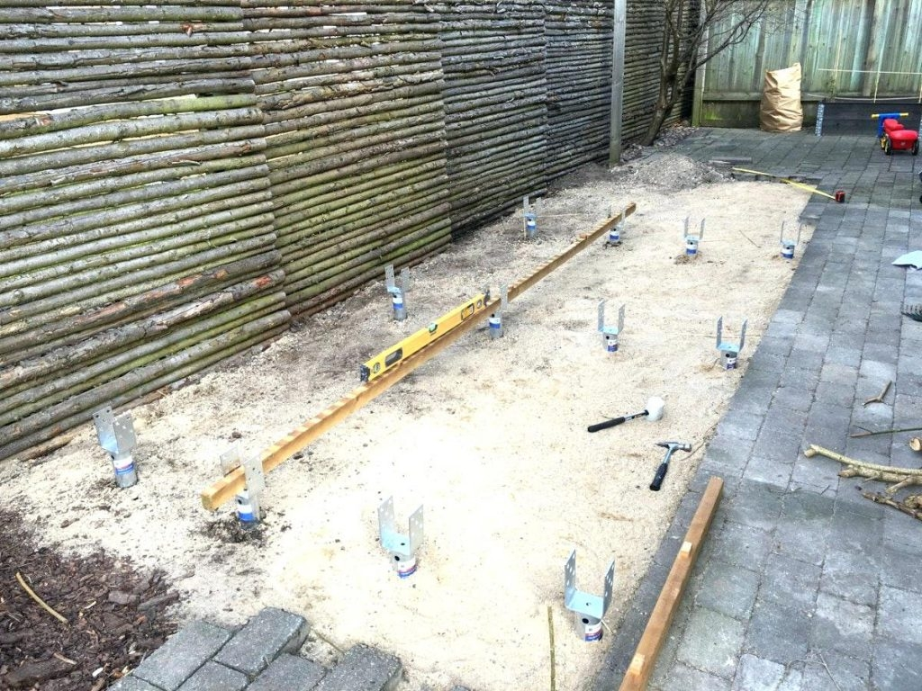Fundament Fur Carport Beste Inspiration Punktfundament Terrasse regarding proportions 1024 X 768