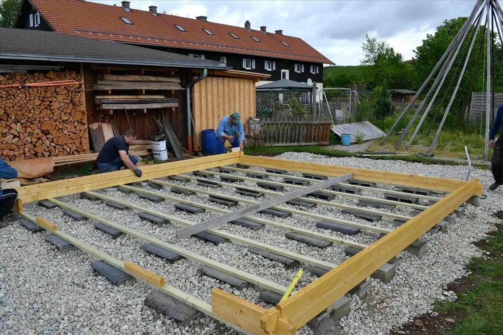 Fundament Fur Carport Punktfundament Fa R Selbst Bauen Und Geld throughout size 1900 X 1266