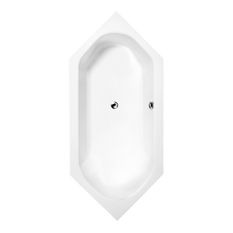 Galatea S114 R Sechseck Badewanne Sun 200 X 90 1734652 Duschmeisterde intended for measurements 1513 X 1513