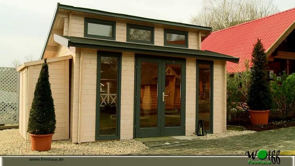Gartenhaus Langeoog Von Wolff Finnhaus Bietet Viel Licht Und inside measurements 1280 X 720
