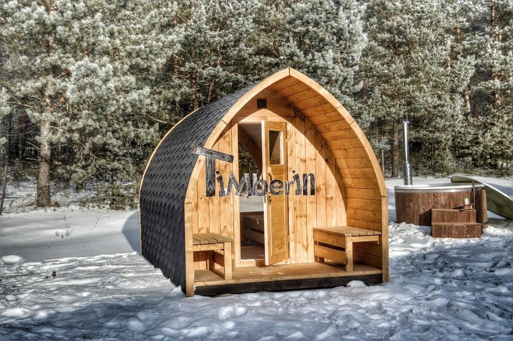 Gartensauna Auensauna Fass Sauna Saunafass Mit Holzofen Vorraum regarding measurements 1200 X 798