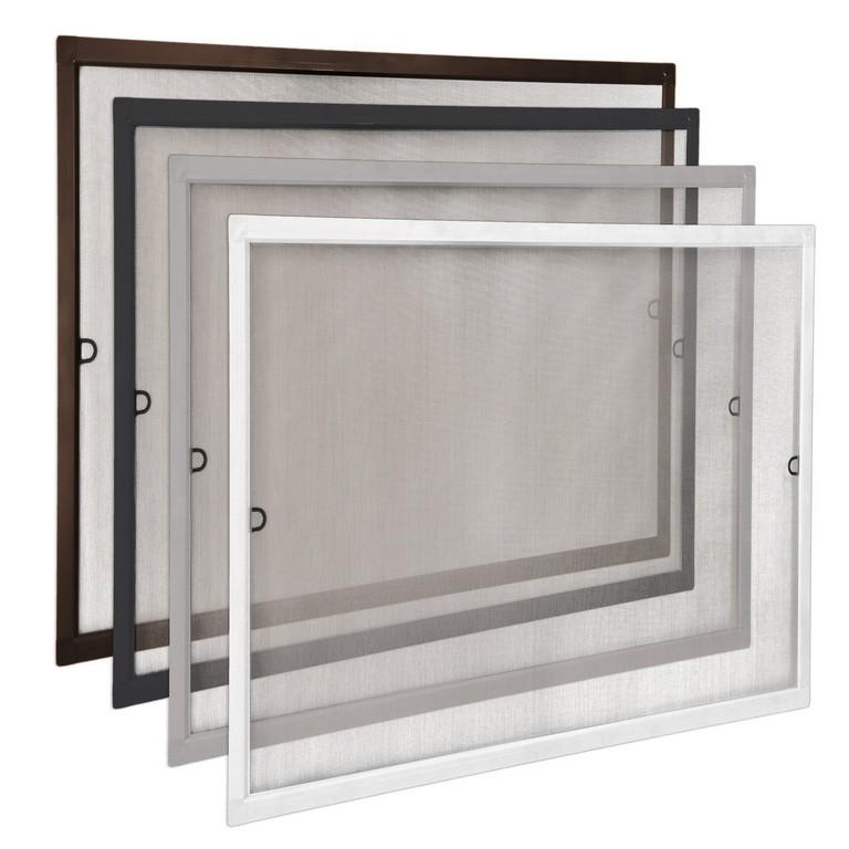 Gitter Fliegengitter Spannrahmen Aluminium Fenster Slimline Mcke for size 2000 X 2000