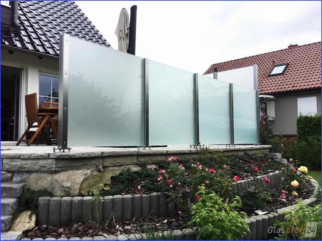 Glaselemente Balkon Erstaunliche Terrassen Sichtschutz Glas regarding dimensions 1600 X 1200