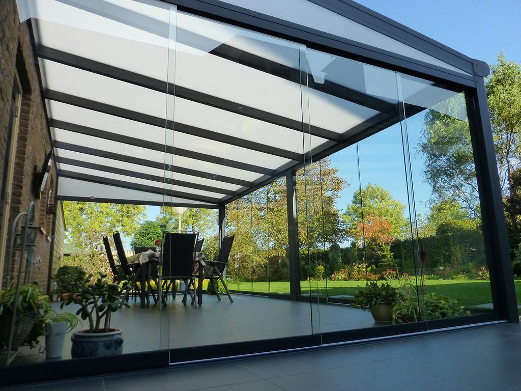 Glasschiebetren Fr Ihre Terrassenberdachung with regard to dimensions 1500 X 1125