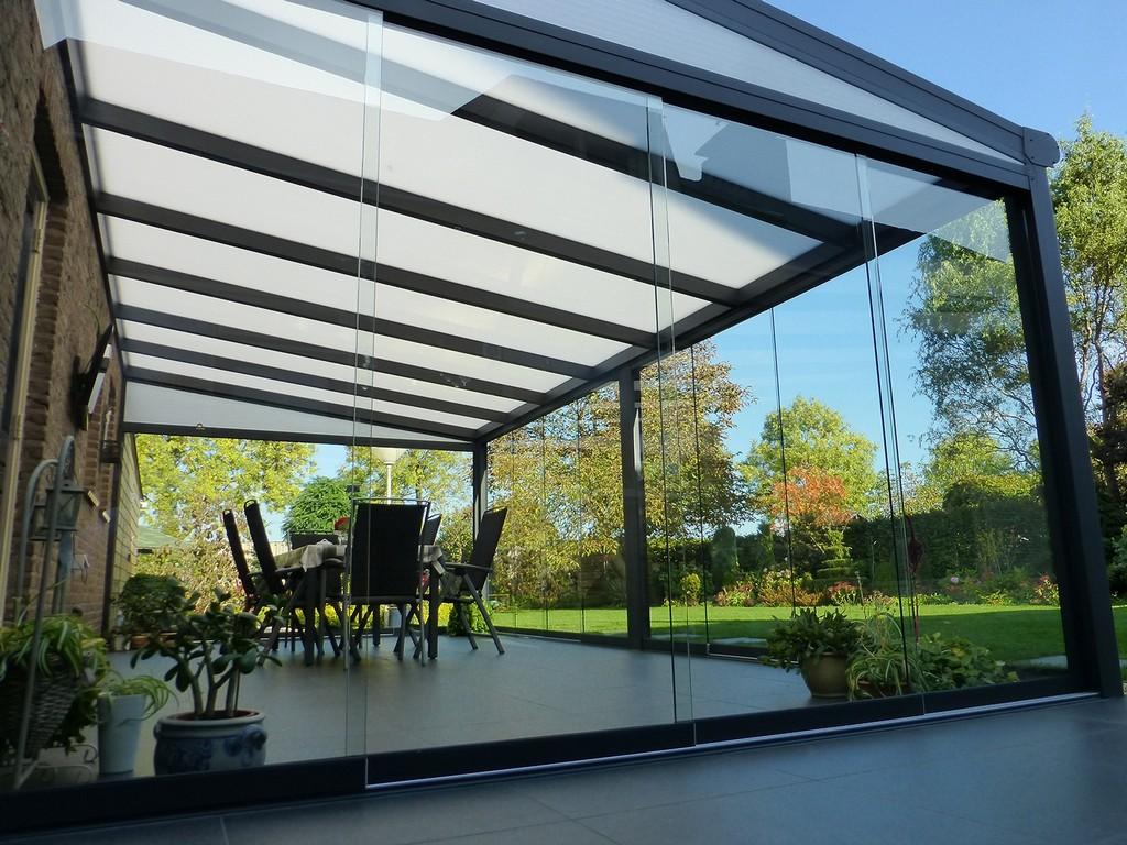 Glasschiebetren Fr Ihre Terrassenberdachung within proportions 1500 X 1125