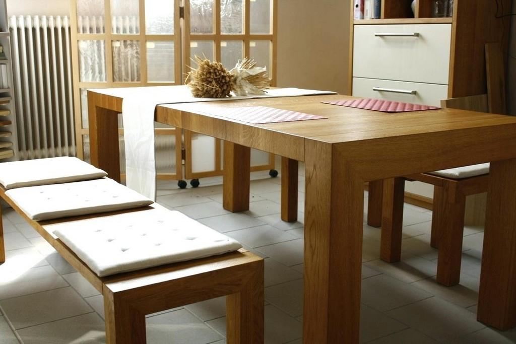 Heine Mobel Kompletteinrichtung Tischler Esstisch Holz Massivholz throughout sizing 1152 X 768