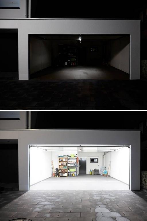 Helle Gleichmige Beleuchtung Fr Die Garage Bauwiki in sizing 800 X 1200