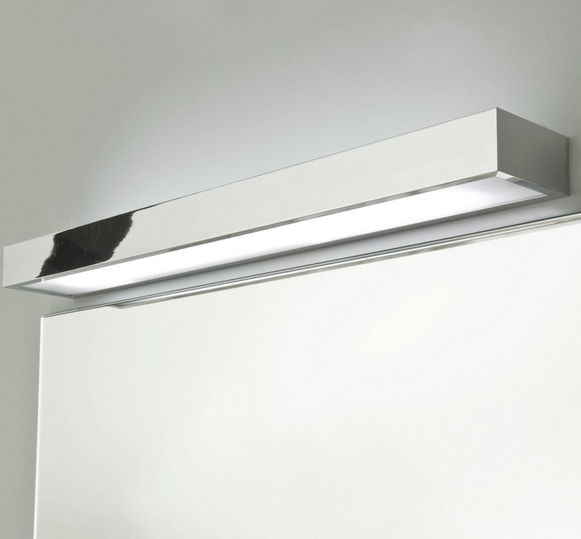Hochwertige Badspiegel Lampe Ip44 Mit Edlem Chrom Tallin 600 B Led with dimensions 1400 X 1300