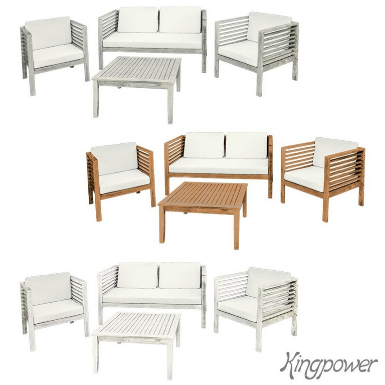 Holz Gartenmbel Sitzmbel Sitzgruppe Sitzgarnitur Gartenset Tisch 1 inside proportions 1000 X 1000