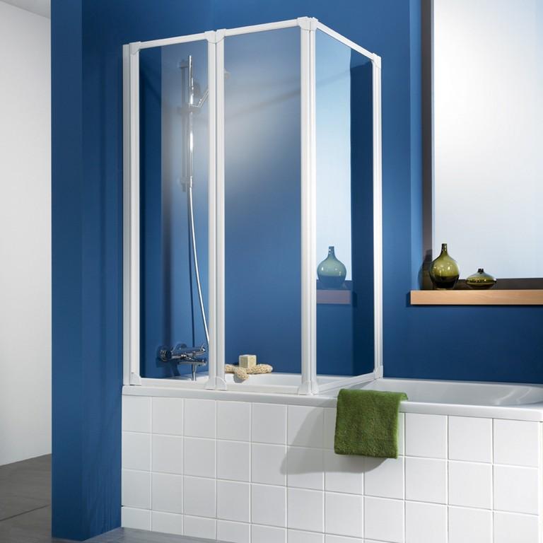 Hsk Badewannenaufsatz Prima 264155 Badewannenfaltwand Eckfaltwand for proportions 1000 X 1000