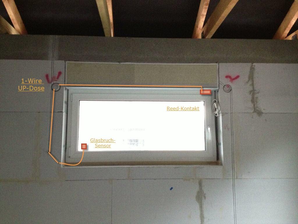 Hums Baublog Loxone Reedkontakte Und Glasbruchsensoren Fenster with proportions 1024 X 768