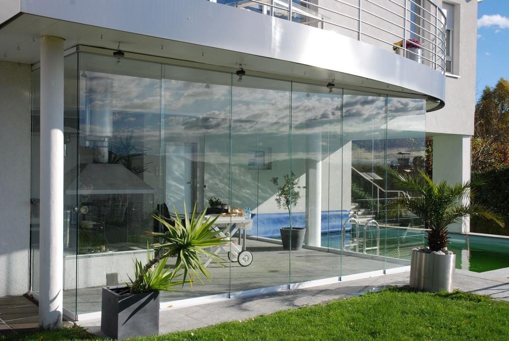 Ideen Wie Du Mit Sunflex Schiebeverglasung Dein Poolhaus Verglast pertaining to sizing 3872 X 2592