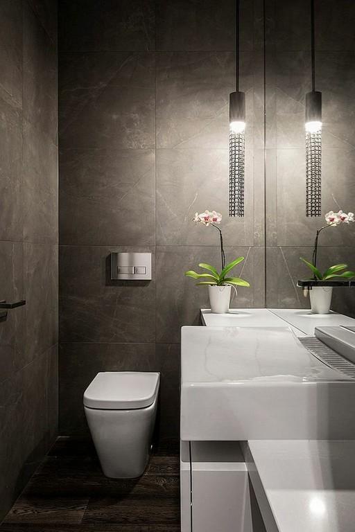 Im Gste Wc Ist Die Beleuchtung Von Groer Bedeutung Bathrooms with regard to sizing 750 X 1125
