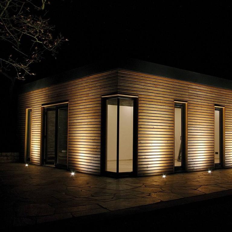 Indirekte Beleuchtung Am Gartenhaus So Muss Das regarding proportions 1080 X 1080