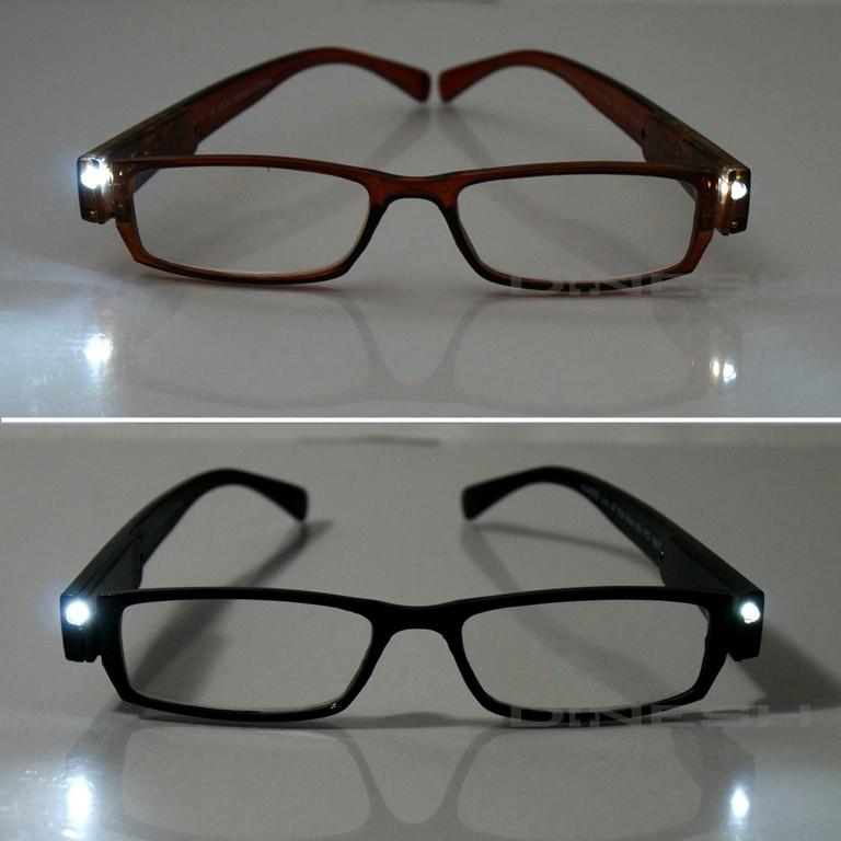 Infactory Brille Mit Lampe Modische Lesehilfe Mit Integriertem Led with regard to proportions 1450 X 1450